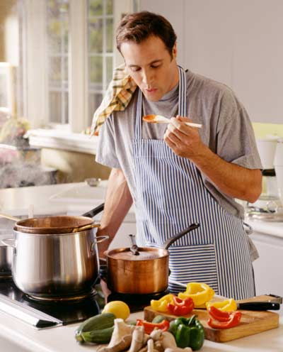 Cook in your kitchen with personal chef