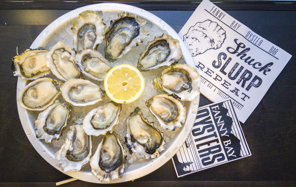 Fanny Bay Oysters - Local Vancouver eatery